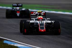 Esteban Gutierrez Haas VF-16 Ferrari Gerrman GP f1 2016 Foto Haas