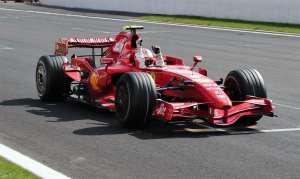 Kimi Raikkonen Ferrari F2007 Belgijan GP F1 2007 Foto LAT