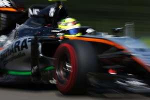 Sergio Perez Force India VJM09 Mercedes Belgian GP F1 2016 Foto Force India
