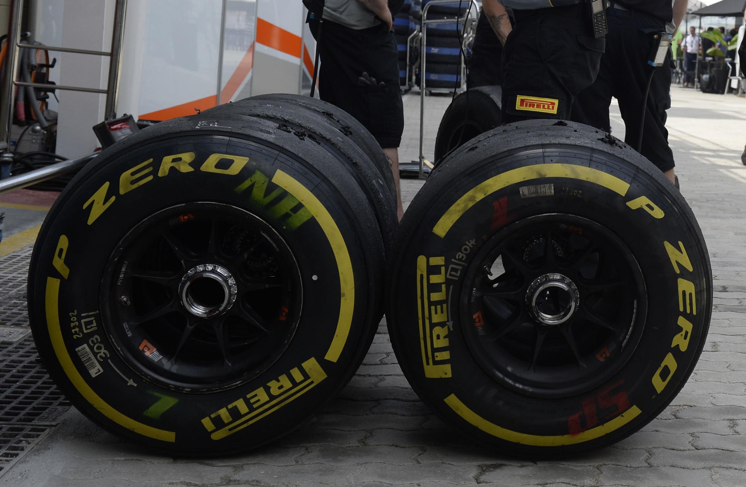 Motegijevi kotači za Force Indiju VJM09 (Foto: Pirelli)