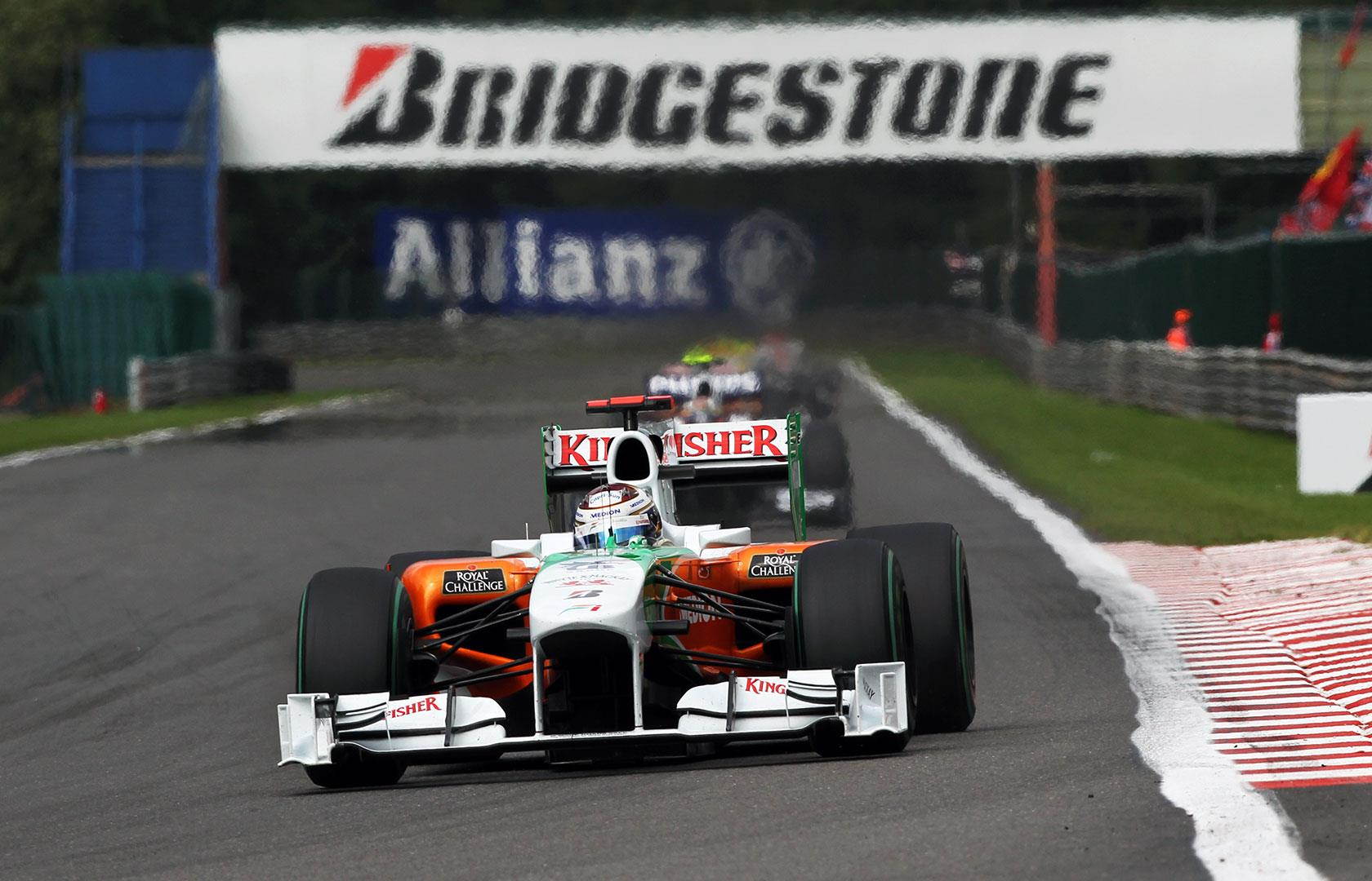 Adrian Sutil Force India VJM03 Mercedes Foto F1 Fansite