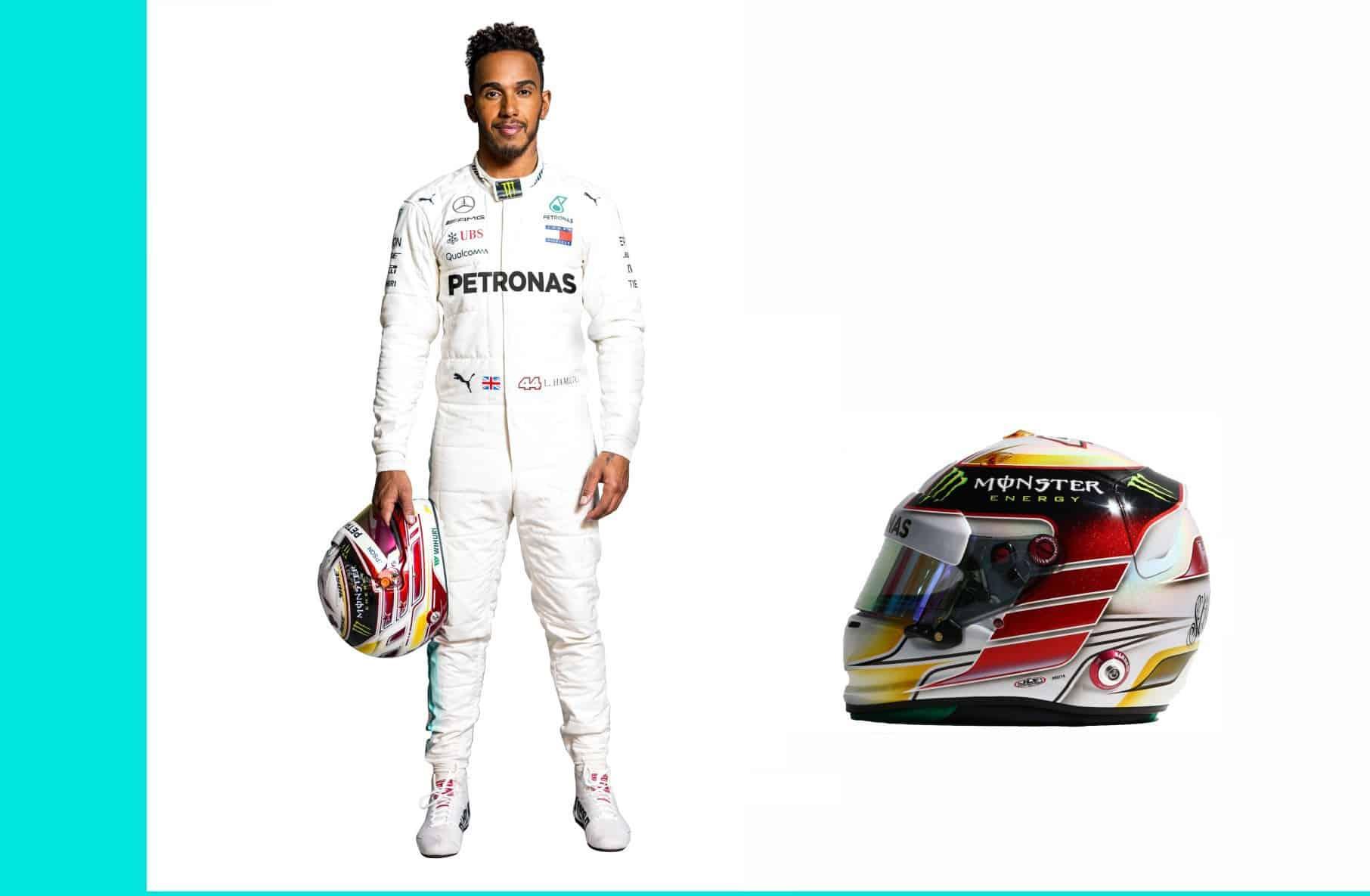 Lewis Hamilton F1 2018 profile full
