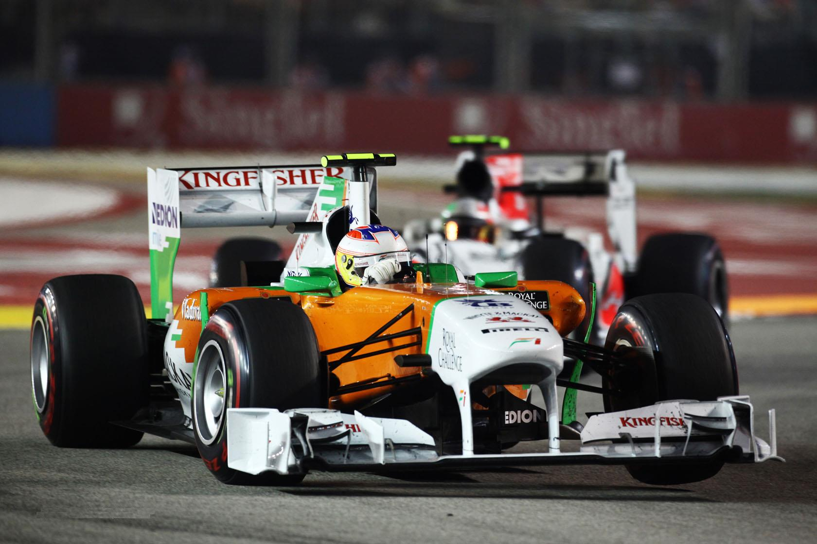 Paul di Resta Force India VJM04 Mercedes Singapore GP F1 2011 Foto Force India