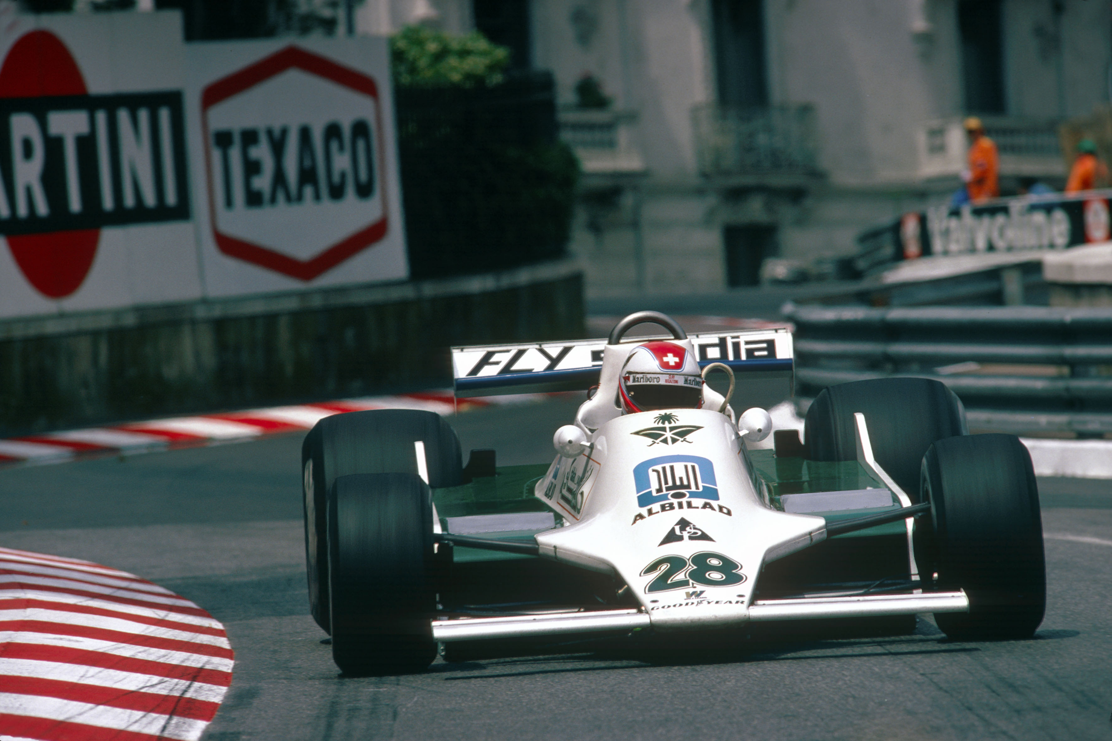 Clay Regazzoni u Williams-Fordu FW07 (27.5.1979) Foto: phombo