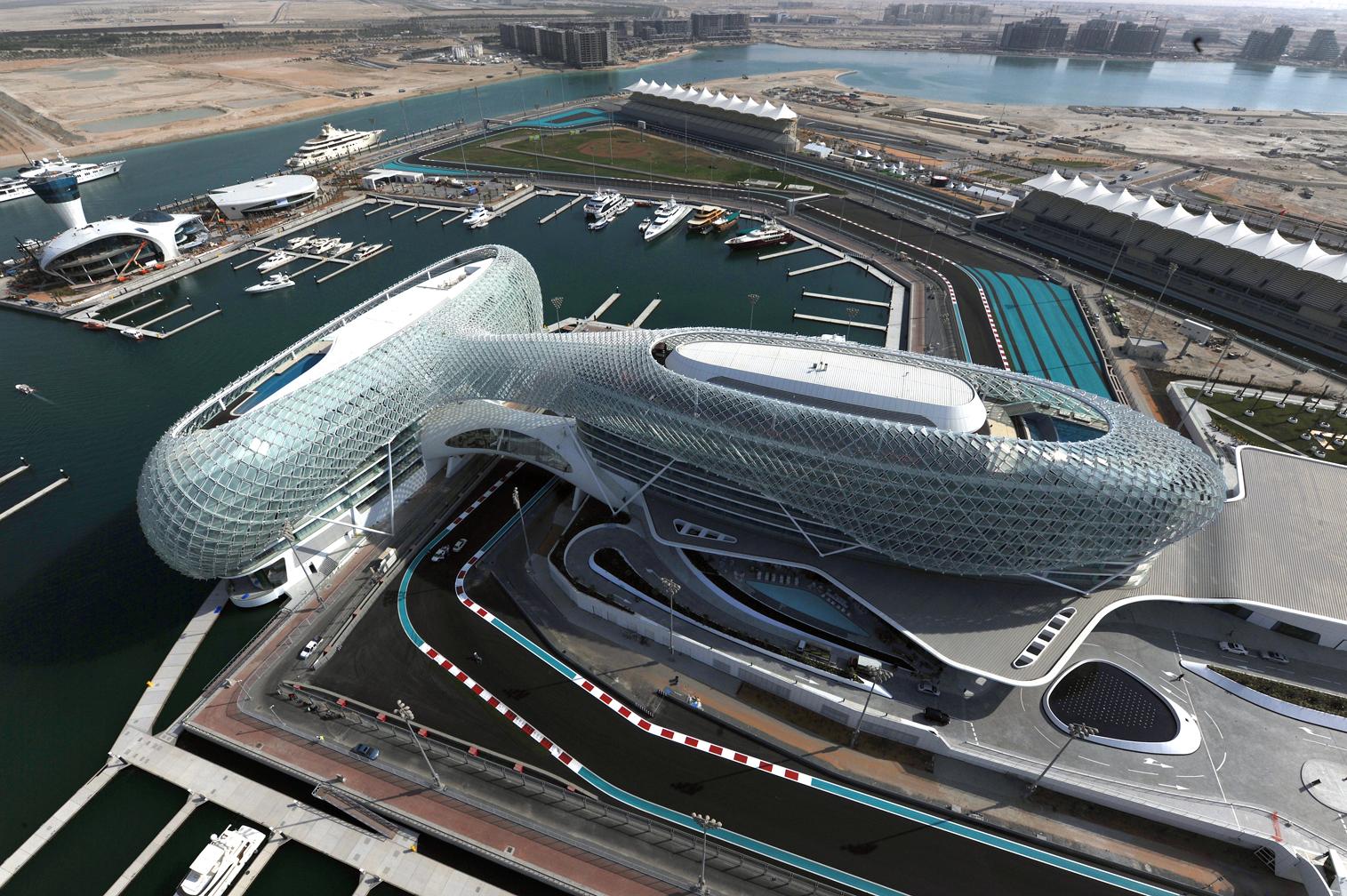 Resultado de imagen de F1 Yas Marina 2018