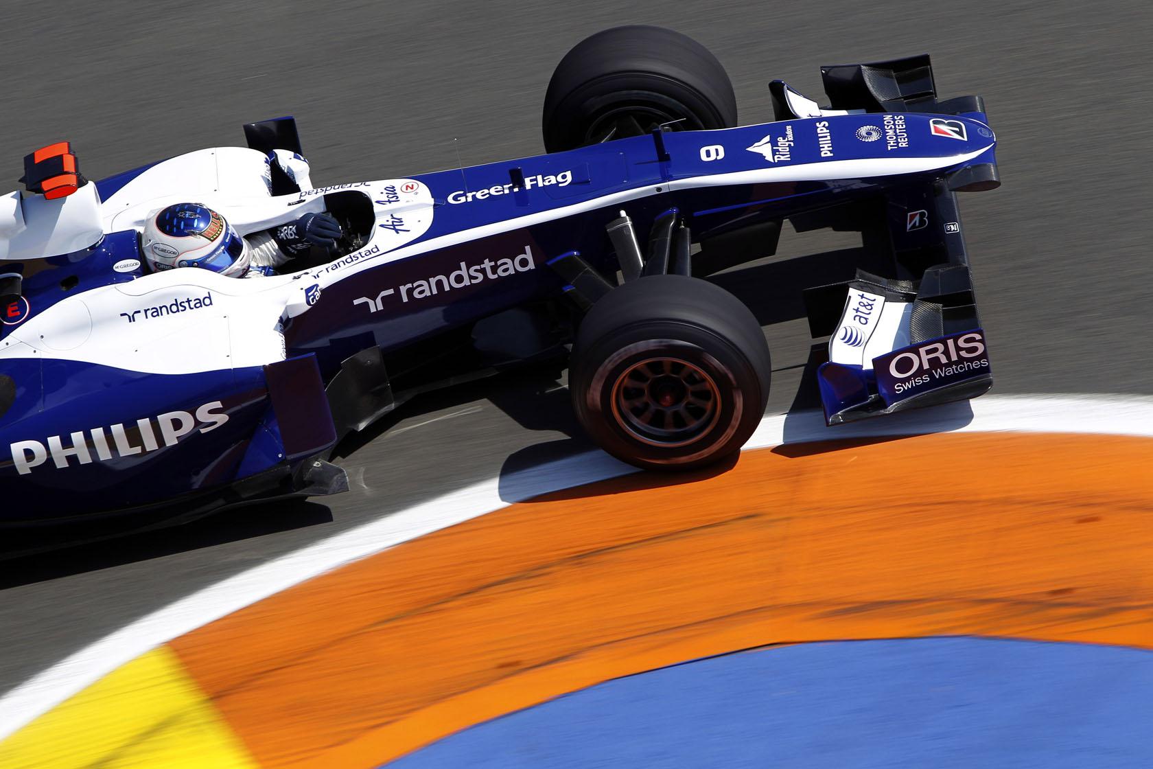Rubens Barrichello je četvrtim mjestom na VN Europe u Valenciji ostvario plasman sezone. (27.6.2010.) Foto: f1fanatic