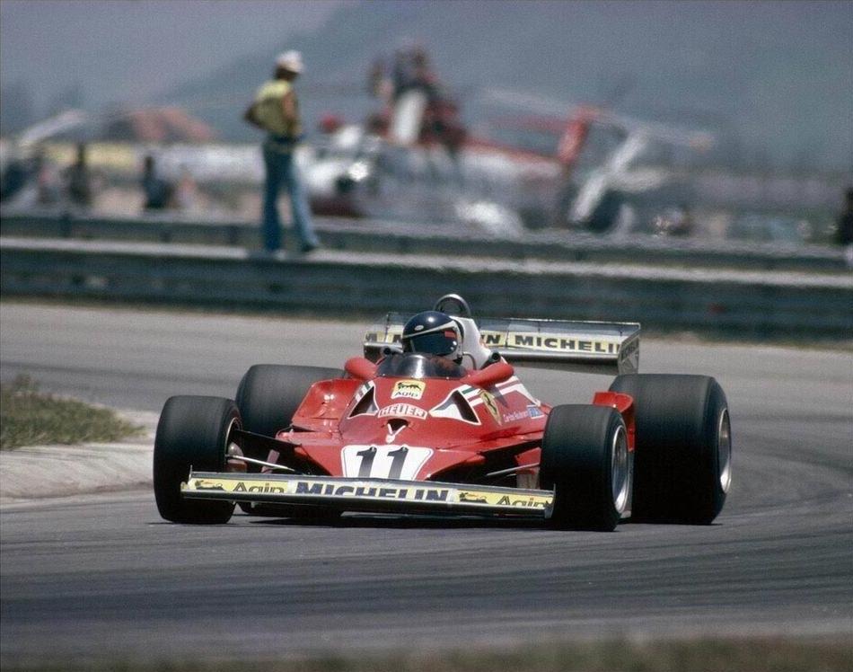 Carlos Reutemann u Ferrariju pobjednik je prve VN Brazila održane na stazi Jacarepagua u Rio de Janeiru. Ujedno je to bila i prva pobjeda za Michelin u Formuli 1. (29.1.1978.) Foto: f1fanatic
