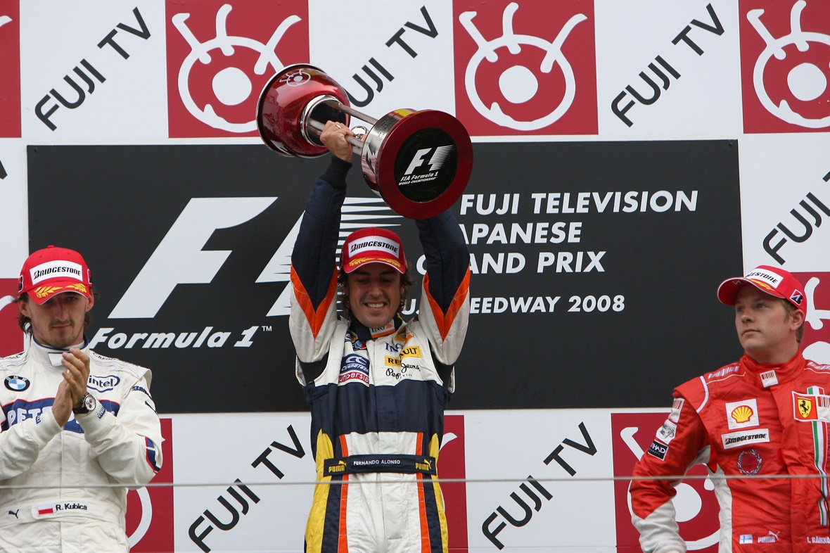 fernando-alonso-robert-kubica-kimi-raikkonen-japan-gp-fuji-f1-2008-podium