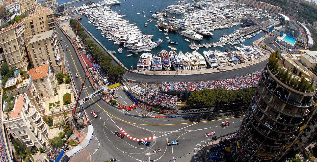 Circuito Monaco : Monaco gp circuit de