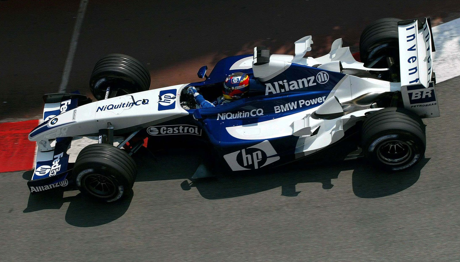 juan pablo montoya monaco f1 2003 bmw williams