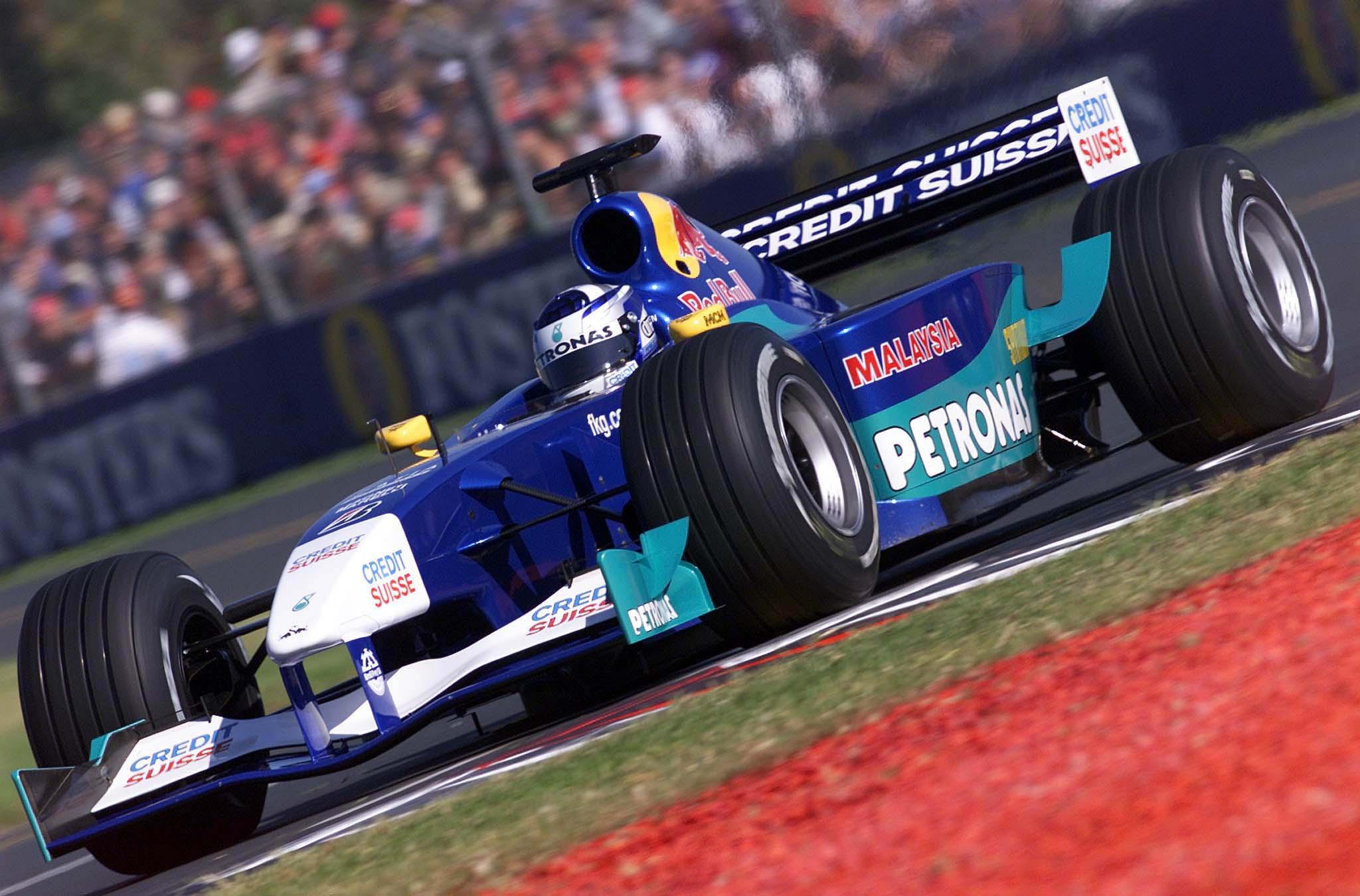 Kimi Raikkonen na svojoj prvoj F1 utrci u Australiji. (4.3.2001.) Foto: f1fanatic