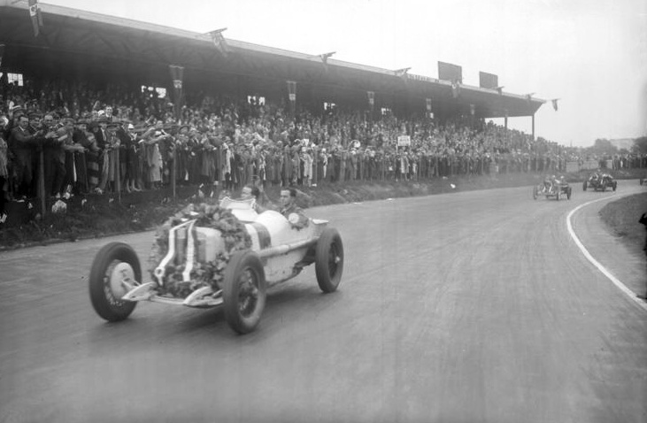 rudolf-caracciola-wins-german-gp-1926-AVUS-berlin-mercedes-monza Foto German Federal Archive