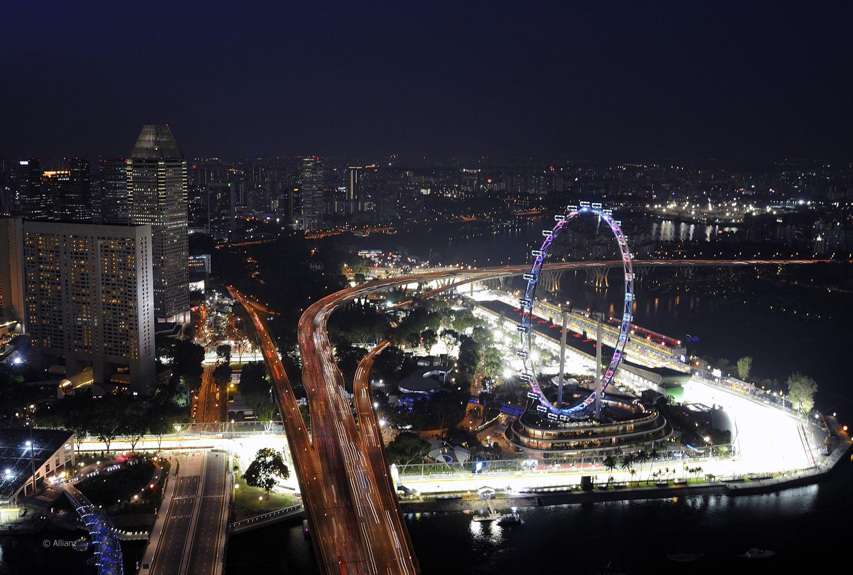 singapur rennstrecke