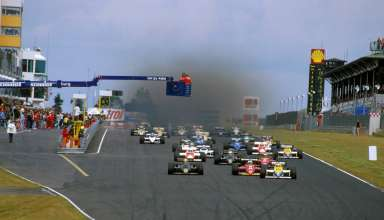 start-of-german-gp-1985-nurburgring-foto-williams
