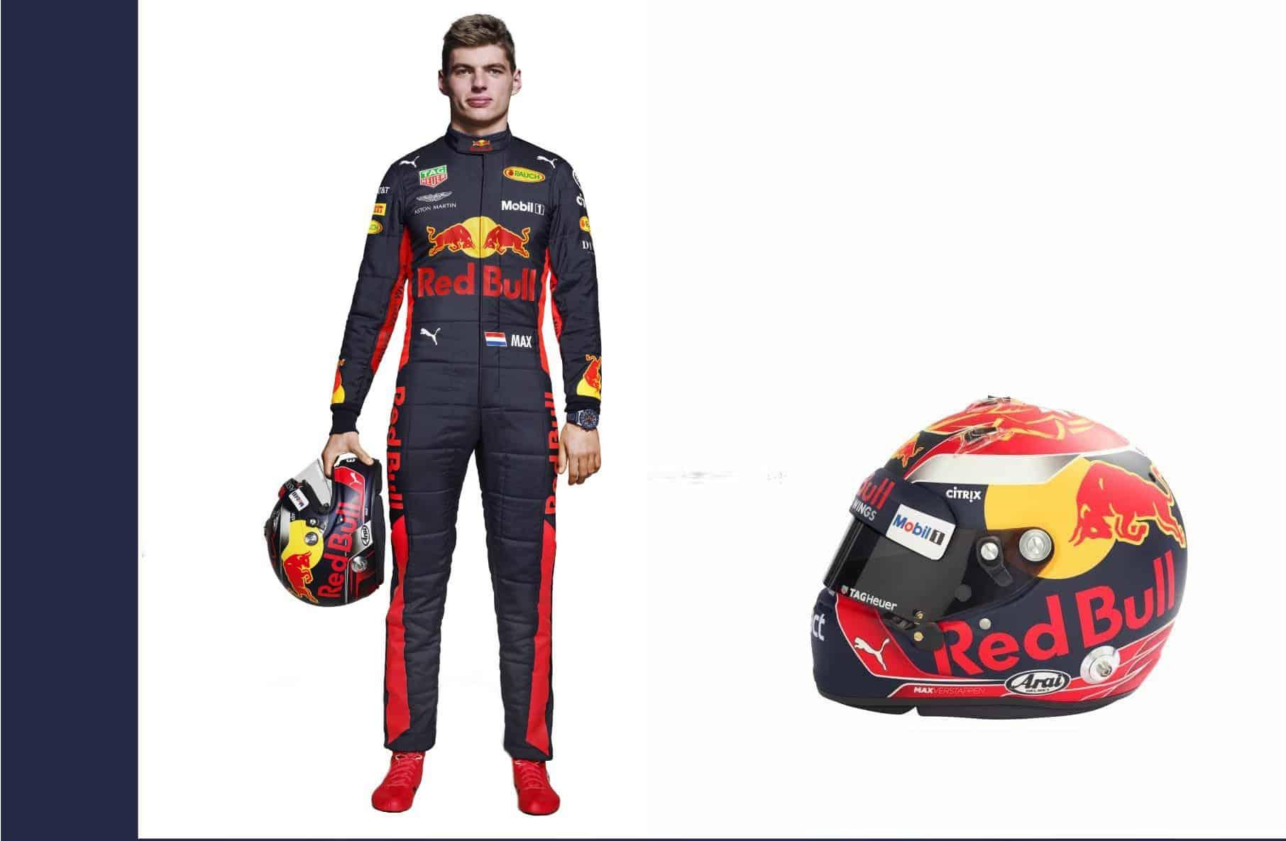 Max Verstappen F1 2018 profile full