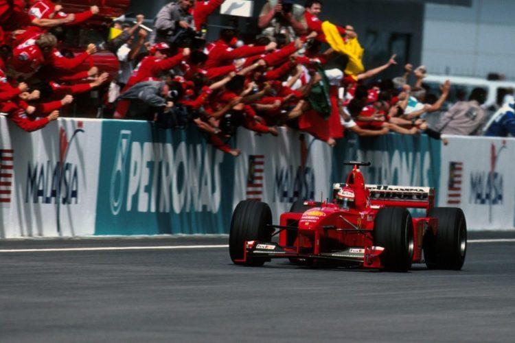 Eddie Irvine, Ferrari F399, VN Malezije 1999. (Foto: Ferrari)