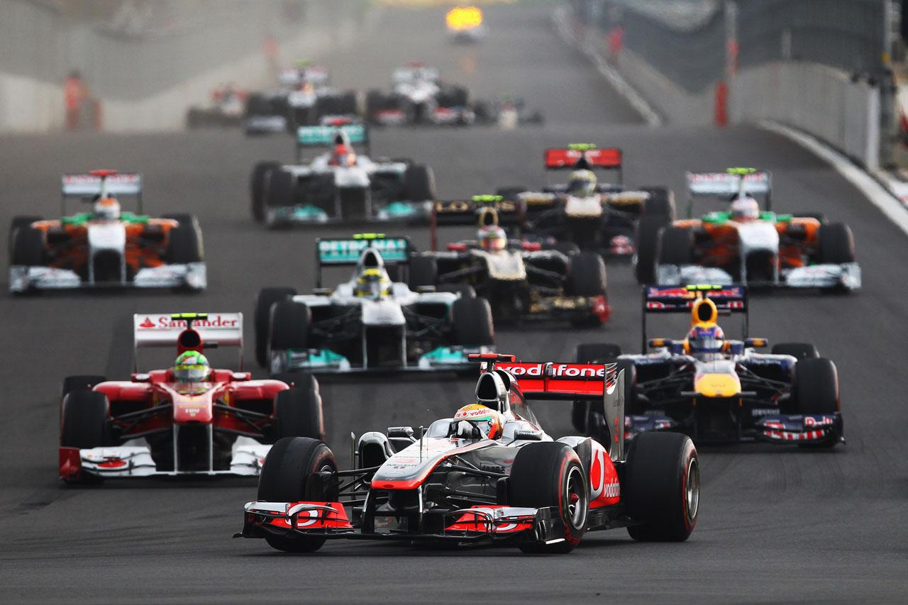 Hamilton je 2011. bio jedini vozač koji je Red Bullu uspio oteti pole position. Dogodilo se to na VN Koreje (16.10.2011.) Foto: Getty