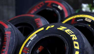 P Zero Red supersoft and Yellow soft tyres - Pirelli F1