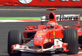 ferrari f2004 schumacher belgium spa hi red