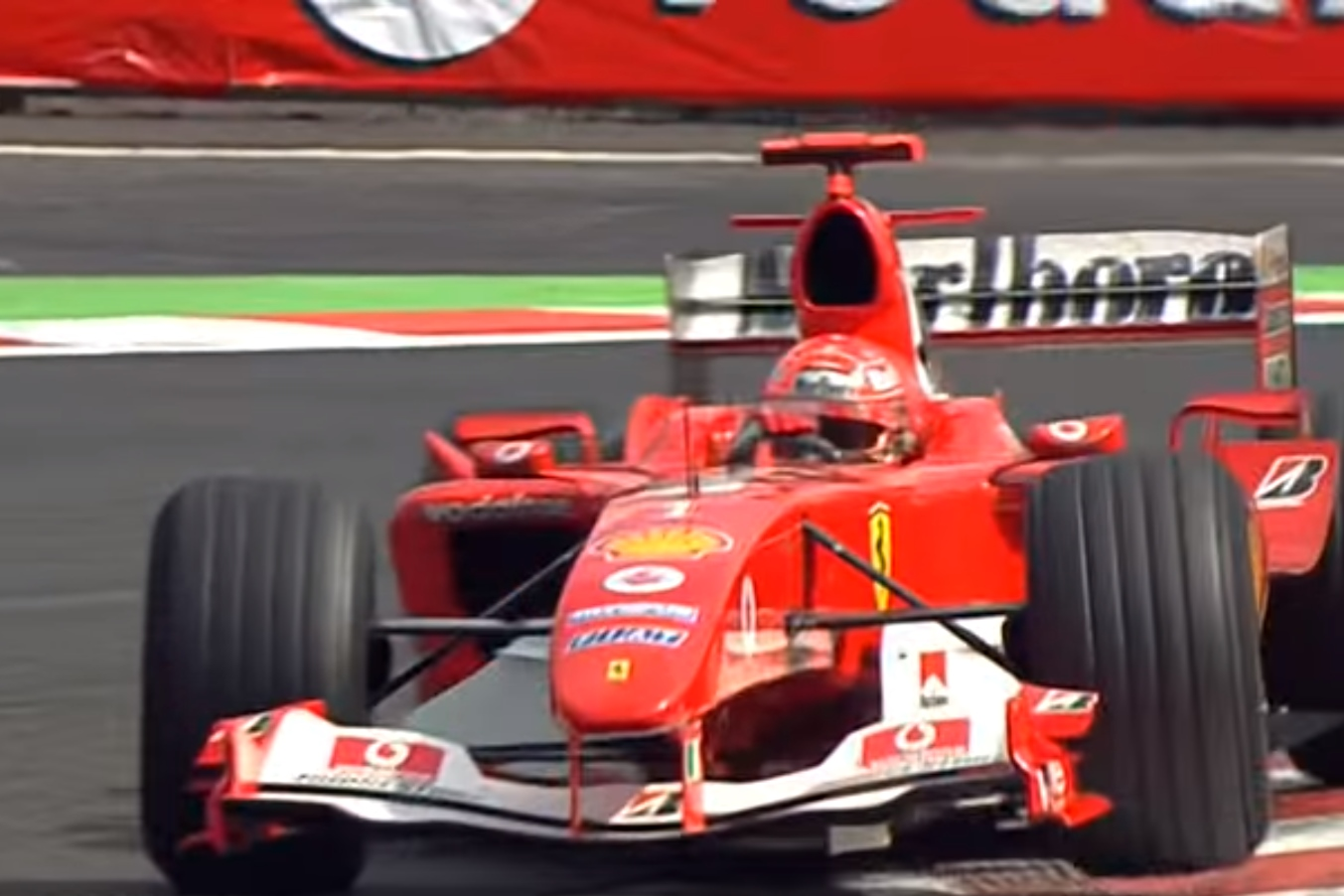 Michael Schumacher Ferrari F2004 Belgian Gp Spa F1 2004 7th Title Maxf1net