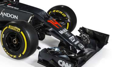 2016 McLaren Honda MP4-31 Front end