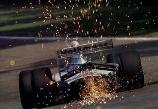 Ayrton Senna, Williams-Renault FW16, San Marino GP 1994, Imola, Foto - itsawheelthing