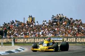 Jean Pierre Jabouille Renault RS01 Silverstone F1 1977