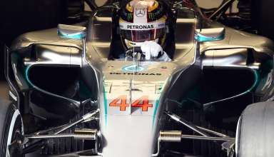 Lewis Hamilton Mercedes W07 Hybrid Barcelona test 25.2.2016.-new-nose-and-s-duct