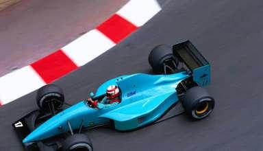 Paul Belmondo, March-Ilmor CG911, Monaco GP F1 1990 Foto - itsawheelthing