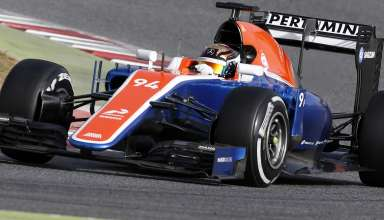 pascal-wehrlein-new-manor-mr05t-mercedes-f1-2016-car-barcelona-debut-22-2-2016-on-track