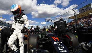 Fernando Alonso on Australian GP 2016 grid