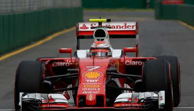 Kimi Raikkonen Ferrari SF16-H Australian GP Melbourne F1 2016