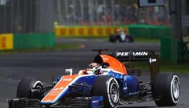 Pascal Wehrlein Manor MRT05 Mercedes Australian GP Melbourne F1 2016 Foto XPB