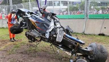 alonso-crash-australian gp f1 2016