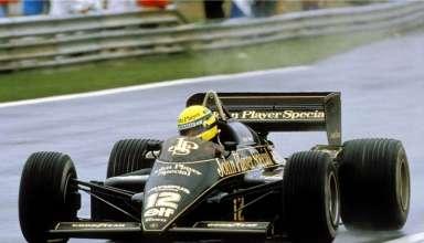 Ayrton Senna Lotus Renault 97T Portugal GP F1 1985 foto f1history
