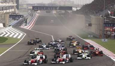 Bahrain GP F1 2009 start of the race Foto F1Fanatic