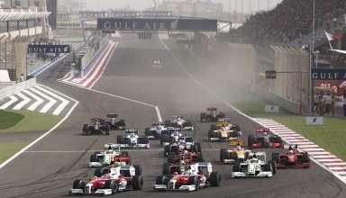 Bahrain GP F1 2009 start of the race Foto F1Fanatic