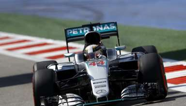 Lewis Hamilton Mercedes W07 Hybrid Russia GP F1 2016 saturday Foto Mercedes