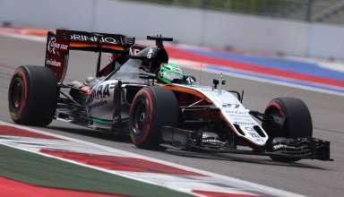 Nico Hulkenberg Force India Mercedes VJM09 Russia GP Sochi F1 2016