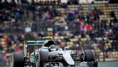 Nico Rosberg Mercedes W07 Hybrid China GP F1 2016 DRS open