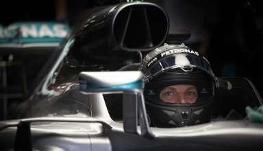 Nico Rosberg Mercedes W07 Hybrid China GP F1 2016 garage