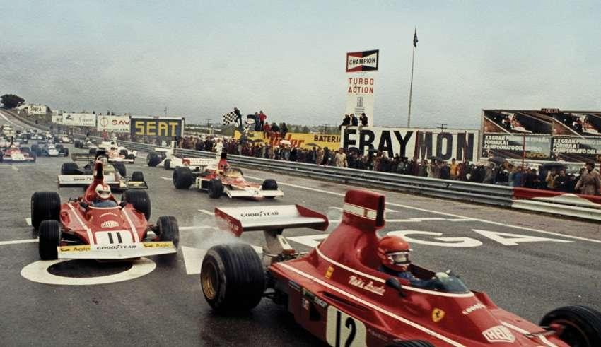Niki Lauda Ferrari 312B3 Spain GP Jarama F1 1974 Foto tumbir