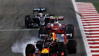 Ricciardo leads Raikkonen and Hamilton Bahrain GP F1 2016