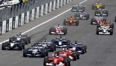 Austria F1 start 2002 Foto Ferrari