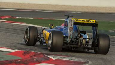 Felipe Nasr Sauber Ferrari C35 Barcelona test 2 F1 2016 Foto Sauber