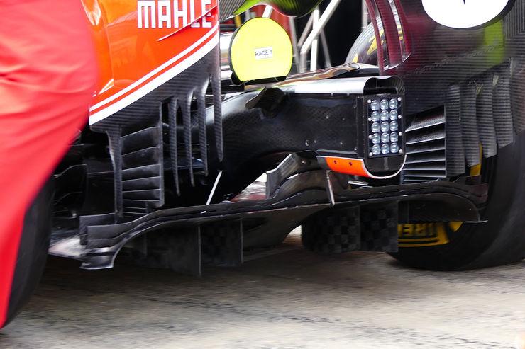 Ferrari Sf16h Diffuser And Rear End Spain Gp Barcelona F1 2016 Foto Automotorundsport Maxf1net