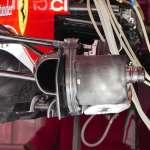 Ferrari SF16H front brake duct Spain GP Barcelona F1 2016 foto automotorundsport