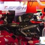 Ferrari SF16H under engine cover Spain GP Barcelona F1 2016 foto automotorundsport