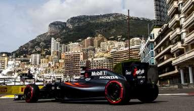 Jenson Button McLaren Honda MP4-31 Monaco GP F1 2016 post tunnel chicane Foto McLaren