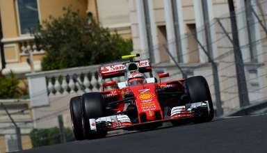 Kimi Raikkonen Ferrari SF16-H Monaco GP F1 2016 Foto Ferrari